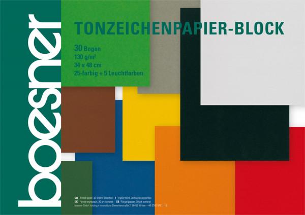 XXXL-Block   boesner Tonzeichenpapier