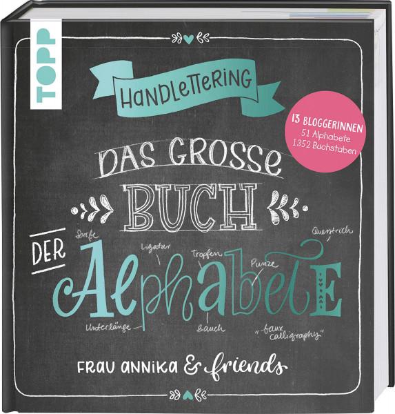 Das große Buch der Alphabete (Frau Annika & friends)   frechverlag