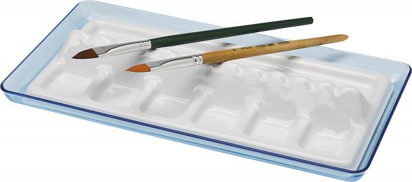 Ars Nova Kunststoffpalette mit Pinselablage