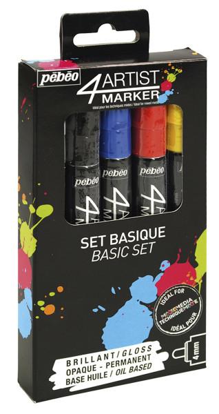 Pébéo 4Artist Marker-Set