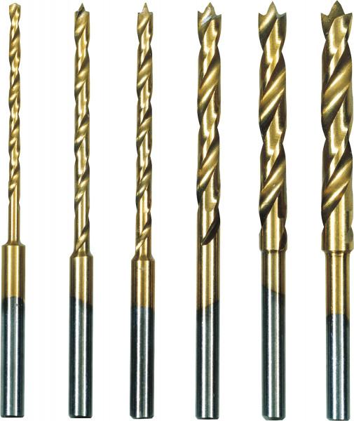 HSS-Spiralbohrersatz, Zentrierspitze | Proxxon Industrie-Bohschleifer