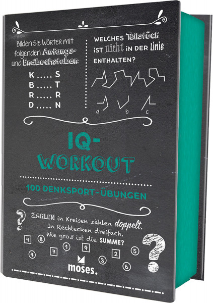 IQ-Workout: 100 Denksport-Übungen   Moses Vlg.