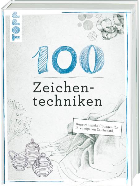100 Zeichentechniken (Monika Reiter, Dieter Schlautmann)   Frechverlag