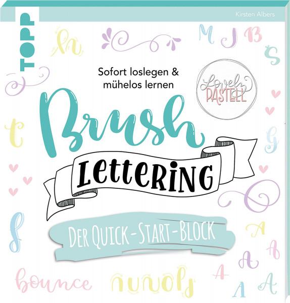 frechverlag Brush Lettering. Der Quick-Start-Block