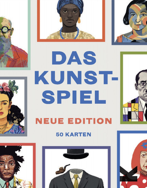 Das Kunst-Spiel. Neue Edition (Holly Black, James Cahill, Mikkel Sommer) | Laurence King Vlg.