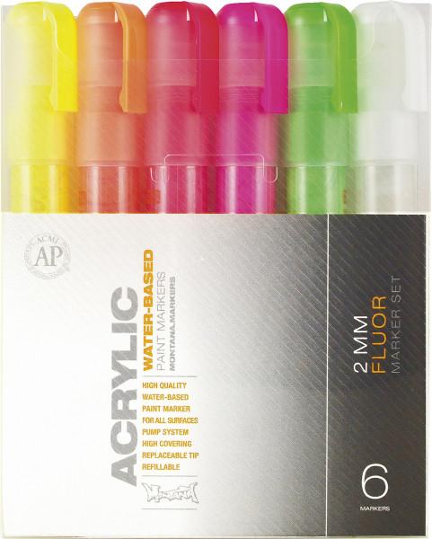 Montana Acrylic Marker Fluor-Set