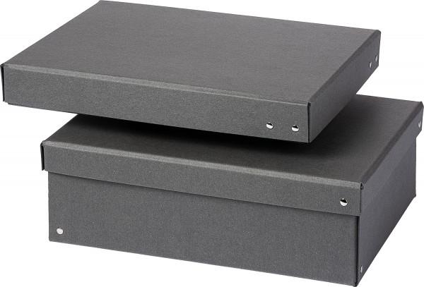 Black Boxes Aufbewahrungskarton aus Hartpappe