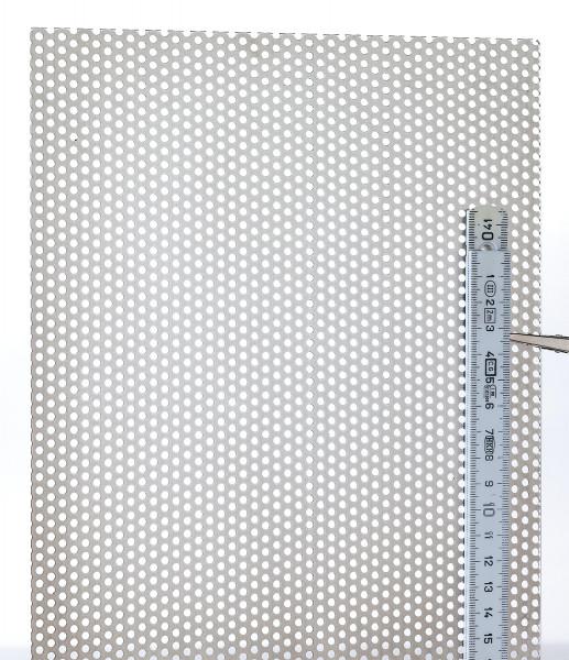 boesner Aluminium-Lochblech, Rundloch versetzt (BALLBRV3)