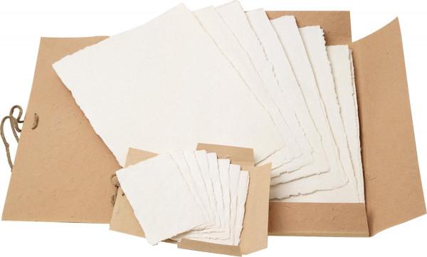Moulin Mappe mit 10 Bogen Aquarellpapier