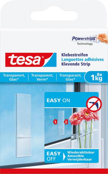 tesa® Klebestreifen für transparente Oberflächen und Glas