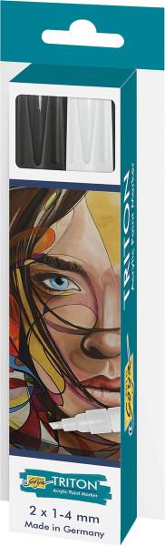 Kreul Solo Goya Triton Acryl Paint Marker   2er-Set