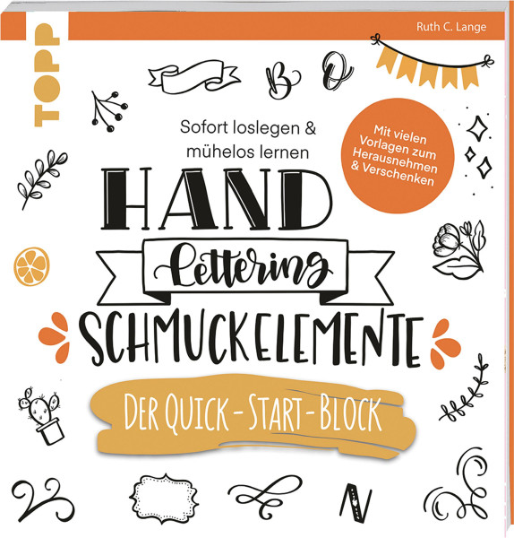 frechverlag Handlettering Schmuckelemente. Der Quick-Start-Block