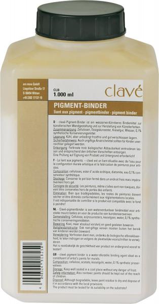 Clavé Pigment-Binder