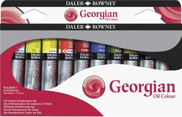 Daler-Rowney – Georgian Ölfarben Einführungs-Set