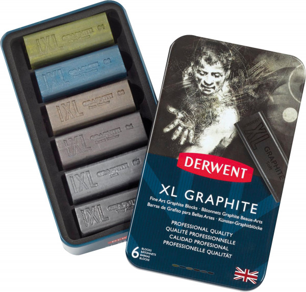 Derwent XL Grafitkreide-Set