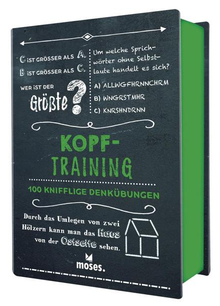 Quiz-Box Kopftraining (Cornelia Ziegler, Philip Kiefer)   Moses Vlg.