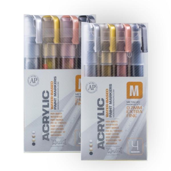 Montana Acrylic Marker Metallic-Set