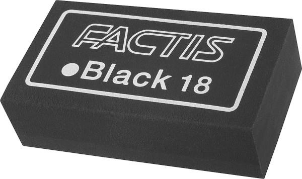 Factis Black 18 Radiergummi