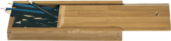 boesner Bambus-Stiftebox