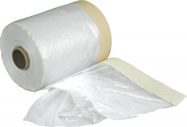 Boesnertest Abdeckfolie mit Papierabklebeband