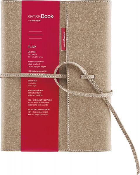 transotype® Sense Book® Flap