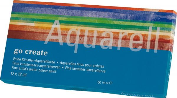 Go Create Aquarellfarben-Set