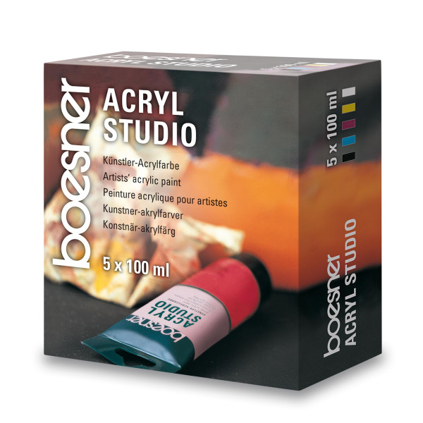boesner Acryl Studio-Set
