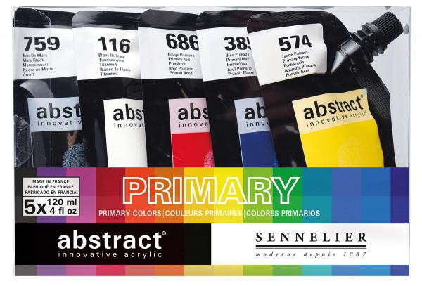 Sennelier Abstract-Set | 5 x 120 ml