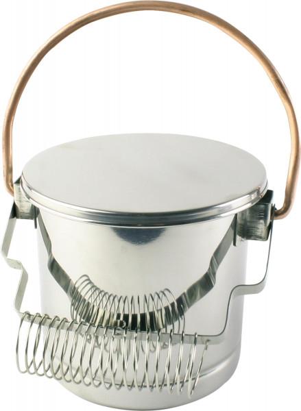 Seng Pinselwascher mit Deckel und Haltespirale (PWED)