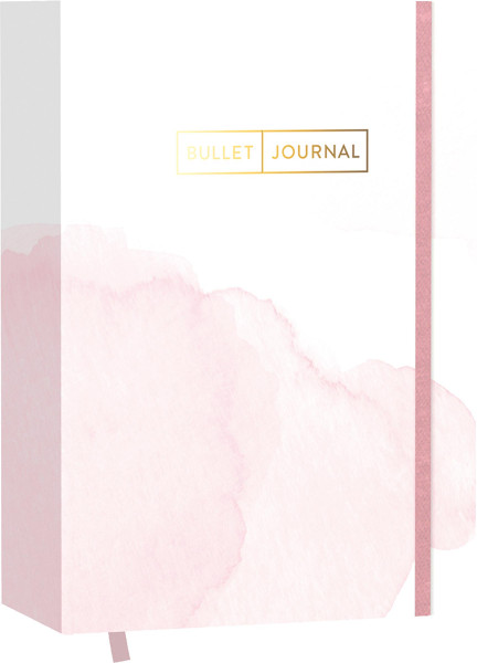 "Edition Michael Fischer Pocket Bullet Journal ""Watercolor Rose"""
