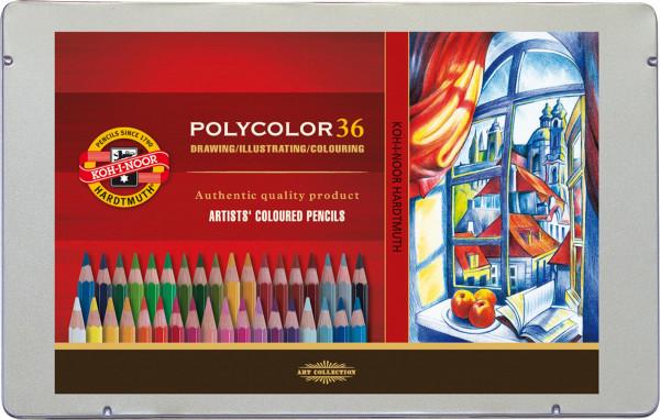 Koh-I-Noor Polycolor Künstler-Farbstift-Set