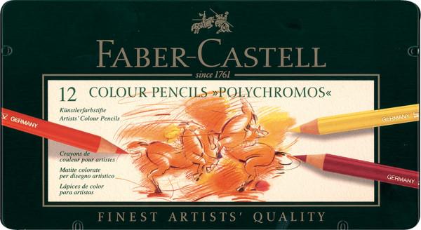 Faber-Castell Polychromos Künstler-Farbstift-Set
