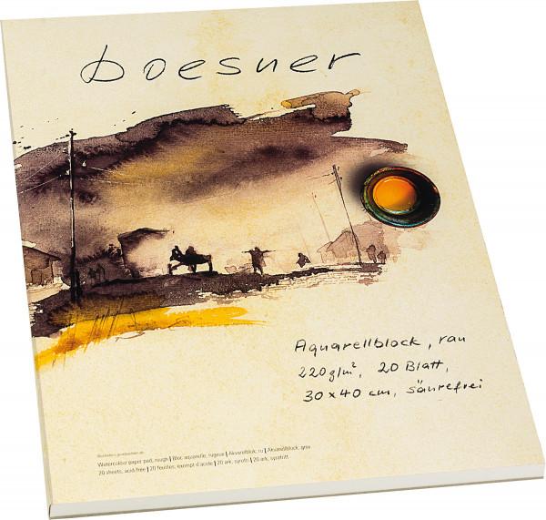 boesner Aquarellblock (ehemals Da Capo)