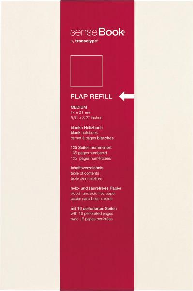 Refill | Sense Book Flap