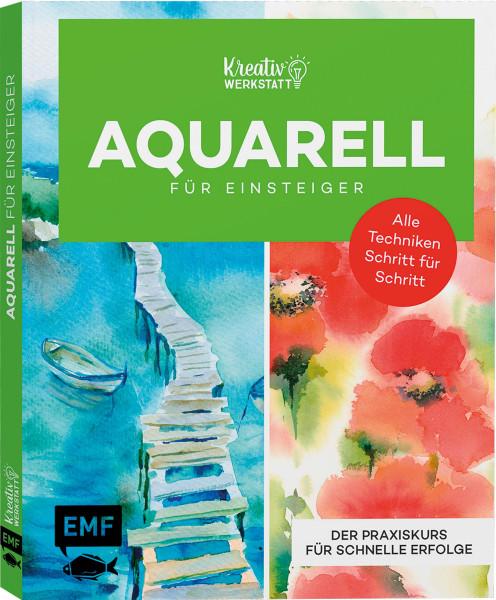 Kunst kompakt: Einfach Aquarell – Das Grundlagenbuch   EMF Vlg.