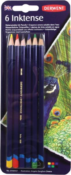 Derwent Inktense Tintenstift-Set   6 Stifte