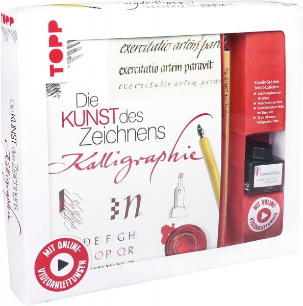 frechverlag Die Kunst des Zeichnens – Kreativ-Set Kalligraphie