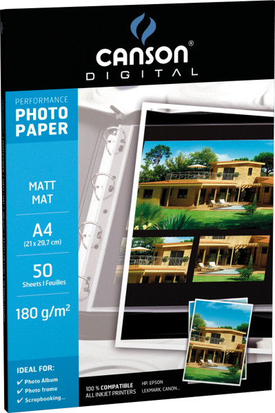 Canson® Digital Performance Photo Paper