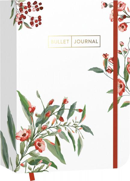 "Edition Michael Fischer Pocket Bullet Journal ""Red Flowers"""