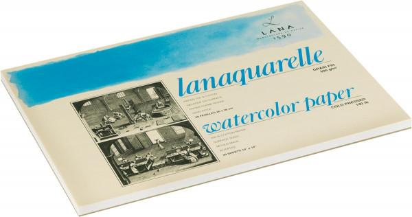 Lana Lanaquarelle Bütten-Aquarellblock