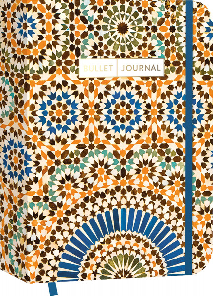 """Edition Michael Fischer Pocket Bullet Journal """"Colorful Marocco"""""""