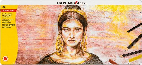 Eberhard Faber Artist Color Zeichen-Set, 37-teilig