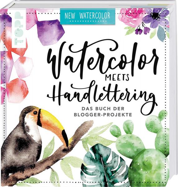 frechverlag Watercolor meets Handlettering