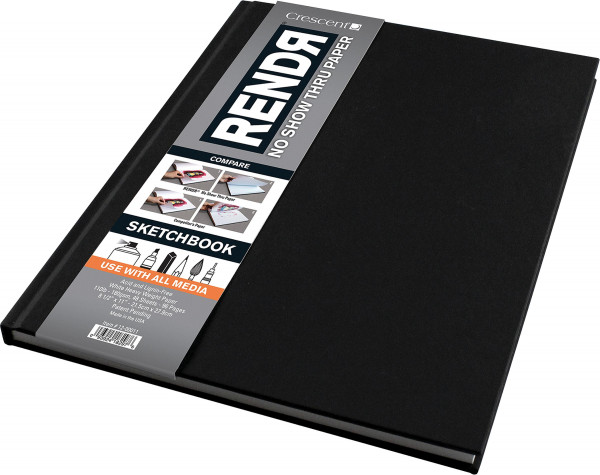 Hardcover Sketchbook   Crescent Rendr Makerpapier