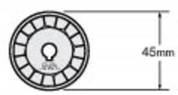 WAB 45-1 Klinge, 1 Stück | Olfa RTY-2 G Rundschneider