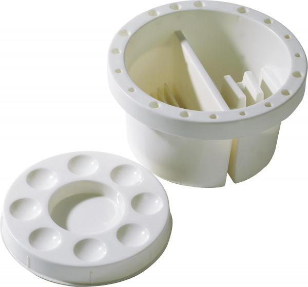 Seng Pinselhalter und -wascher