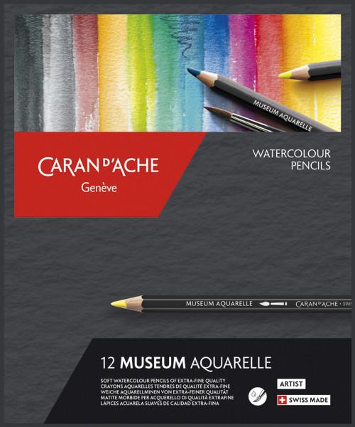 Caran d'Ache Museum Aquarelle-Set | Kartonetui