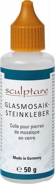 Sculpture Glasmosaikstein-Kleber