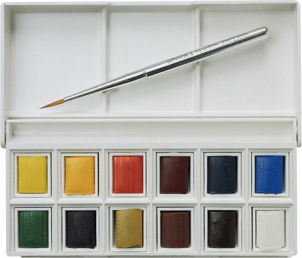 Winsor & Newton Cotman Aquarellfarbe Pocket Box