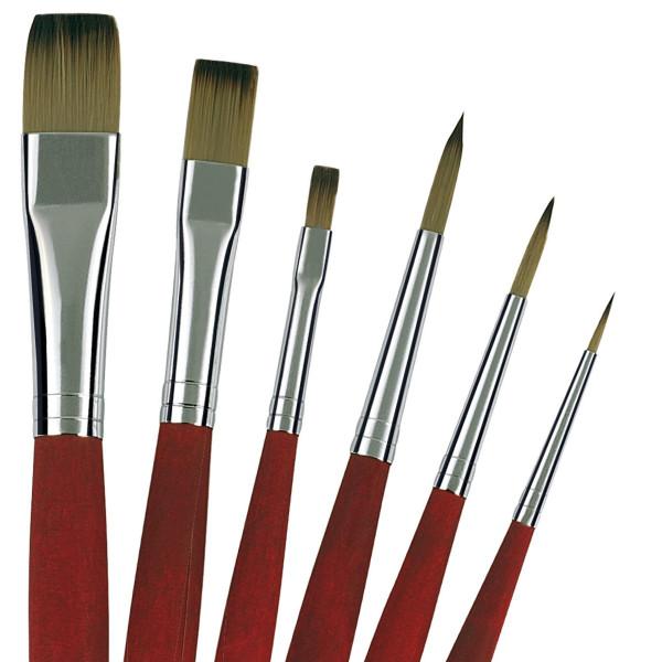 da Vinci College Öl-/Acrylmalpinsel-Set